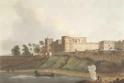 Anchshur, A Nabob's Castle In The Territory Of Bengal